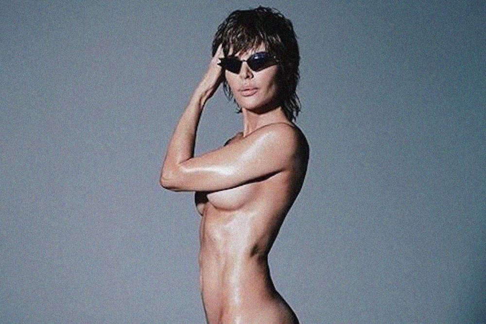 Rinna naked lisa Lisa Rinna