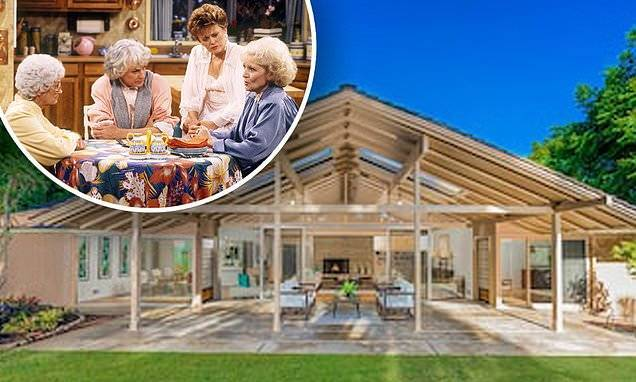 The Golden Girls house used in the iconic TV show hits the