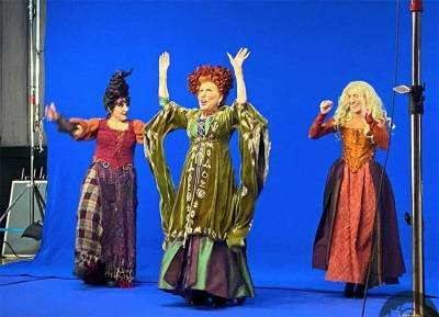 First look at the Hocus Pocus reunion ahead of virtual Halloween event