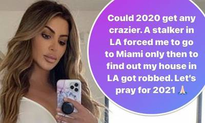 Larsa Pippen's LA home is burglarized... after she claimed a stalker forced her to leave for Miami