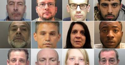 22 of the most notorious criminals jailed in the UK in November