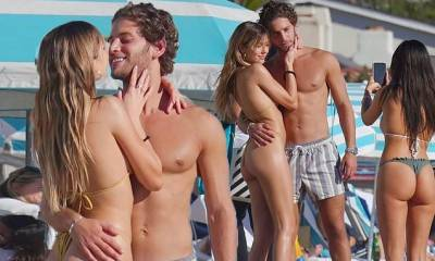 Delilah Belle Hamlin kisses Love Island's Eyal Booker days after the couple's heated exchange