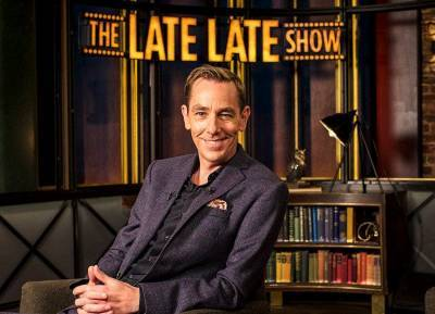 'Morning guy' Ryan Tubridy has secret weapon to power through Late Late Show