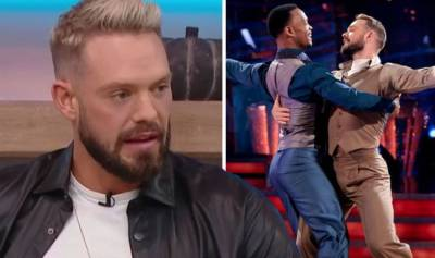 John Whaite says he and Johannes 'withdraw' from Strictly co-stars to focus on each other
