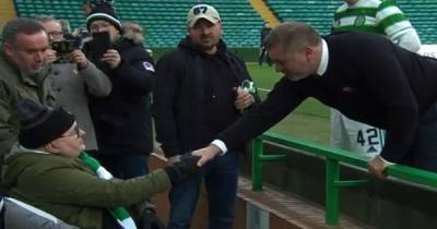Celtic fan receives heartwarming Ange Postecoglou gesture as boss makes time for classy post match chat