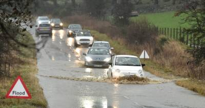Scotland braced for 12 hours of rain which could flood homes as warning issued