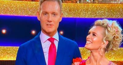 Strictly fans in tears as Dan Walker pays emotional tribute to wife Sarah after waltz