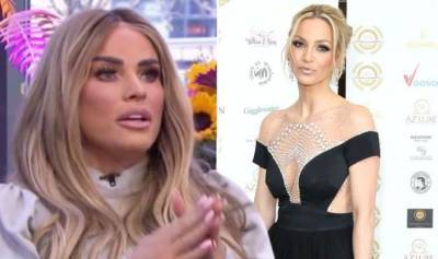 Sarah Harding 'not in good place' says Katie Price as she urges ex bridesmaid to reach out