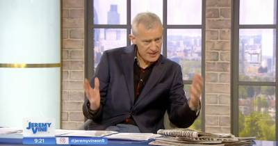 Jeremy Vine accused of 'race baiting' after saying all 30 mourners at Prince Philip's funeral are white