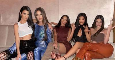 Kylie Jenner reunites with all her Kardashian sisters for wild night out together