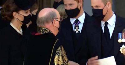 Prince William and Harry 'taking first steps' to heal the rift as they share grief