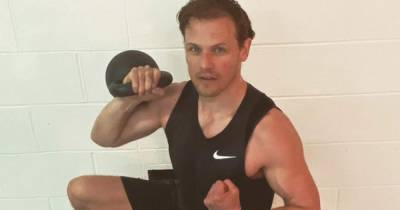 Sam Heughan offers fans chance to work out with him at My Peak Challenge virtual gala
