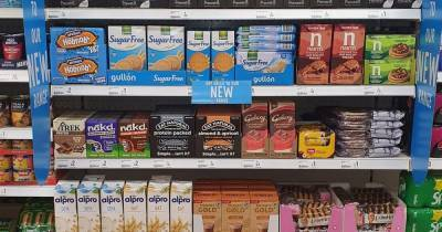 Poundland launches their first 'Free From' range of food in stores