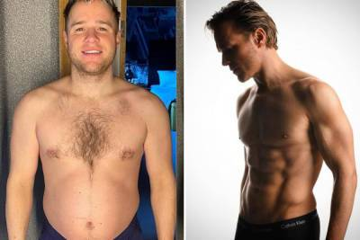 Olly Murs reveals incredible body transformation as he shows off weight loss and six pack