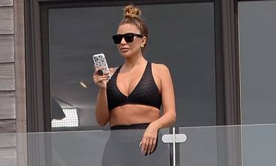 Larsa Pippen films a boxing scene for Real Housewives before an ambulance is called