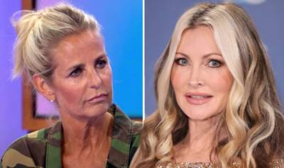 Ulrika Jonsson told 'don't get knickers in a twist' by Caprice after 'embarrassing' swipe